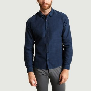 11142970720-10MR-jagvi-chemise flanelle denim 1